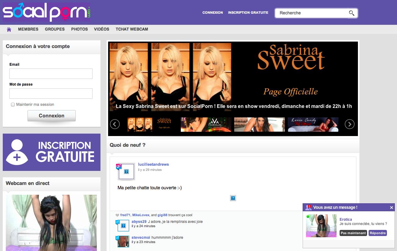 Porn Social Site 121